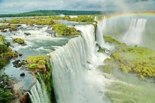.巴西的伊瓜苏瀑布