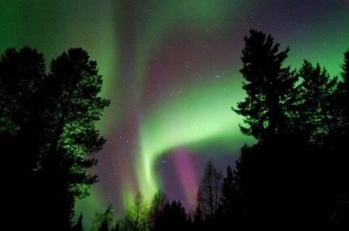 芬兰的北极光