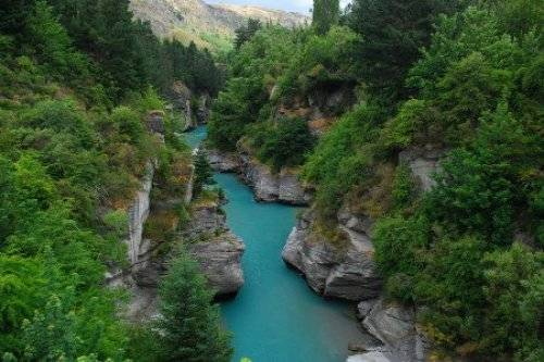 新西兰的沙特欧瓦河
